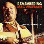 Remembering Mac Wiseman